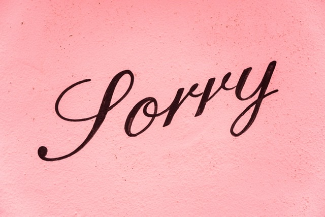 Nie przepraszaj!
